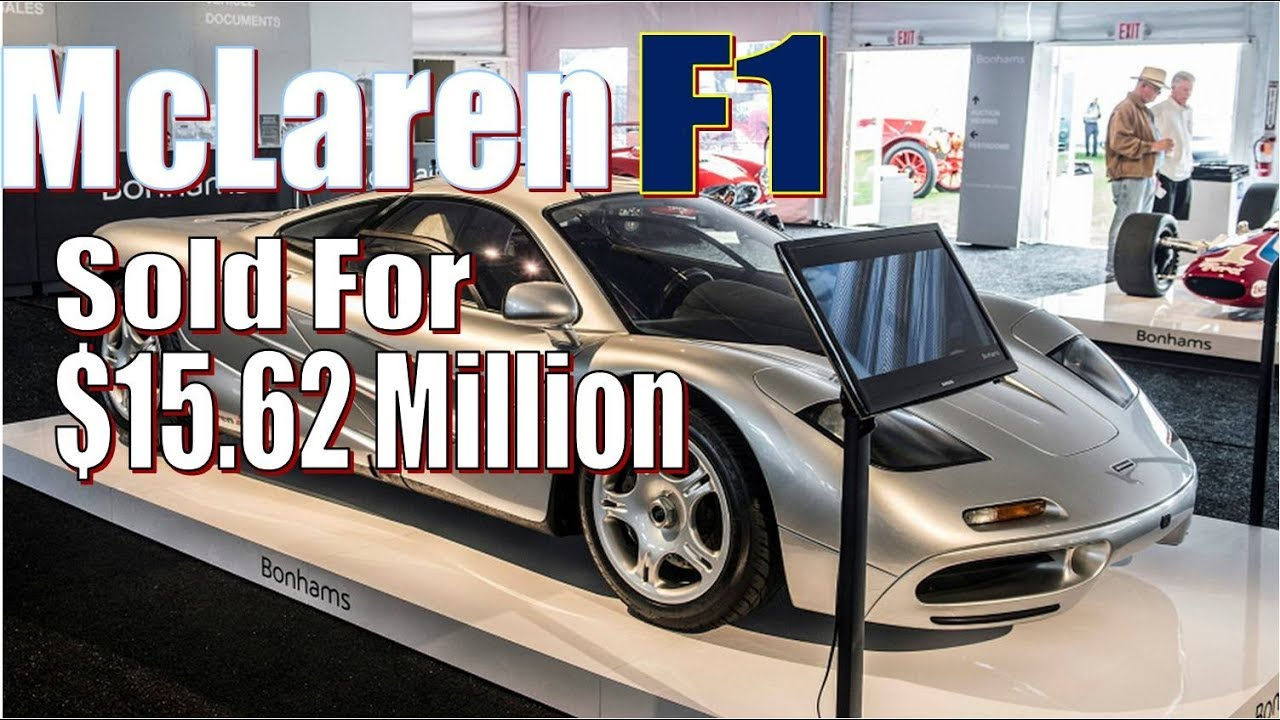 Wow Mclaren Most Expensive Hypercars Just Sold For