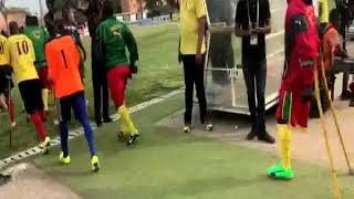 Cameroon vs Angola at the African Amputee football opening match on 4/11/2019 at Benguela-Angola