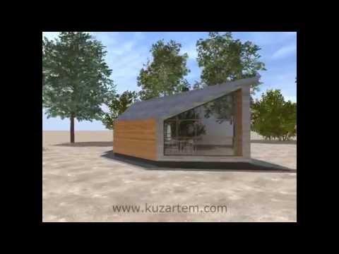Ролик Проект современной бани. Анимация