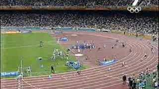Athens 2004 Mens 4x400m relay final