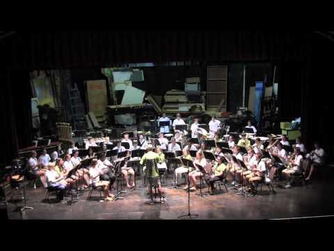 McDaniel College Summer Music Camp 2015 -- Gold Concert Band