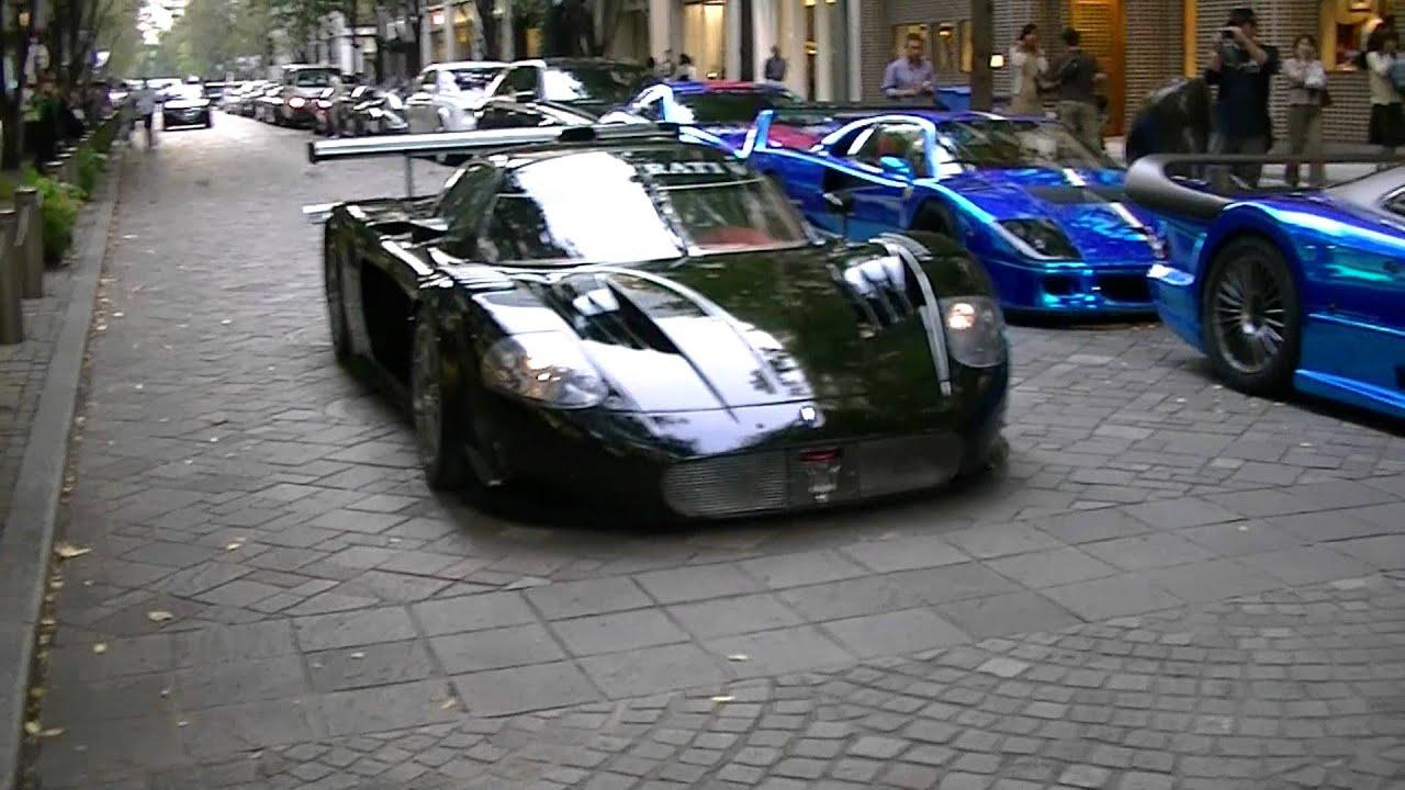 Supercar Maserati Mc12 Corse Office K Dubai Street In