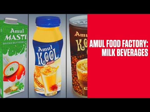 Amul Food Factory: Milk Beverages
