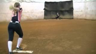Amanda McDonald Softball Pitcher Skills video