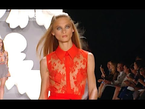 CAROLINA HERRERA Spring Summer 2013 New York - Fashion Channel