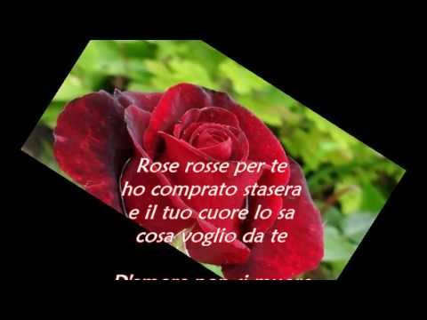 massimo ranieri rose rosse testo