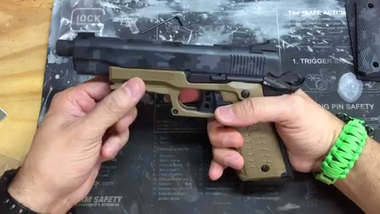 Recover Tactical CC3 Grip & Rail System - YouTube