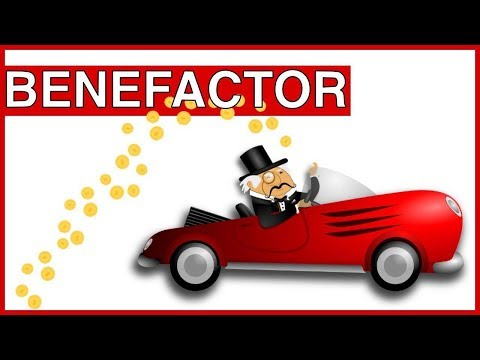 Learn English Words - BENEFACTOR - Meaning, Vocabulary Lesson with Pictures and Examples