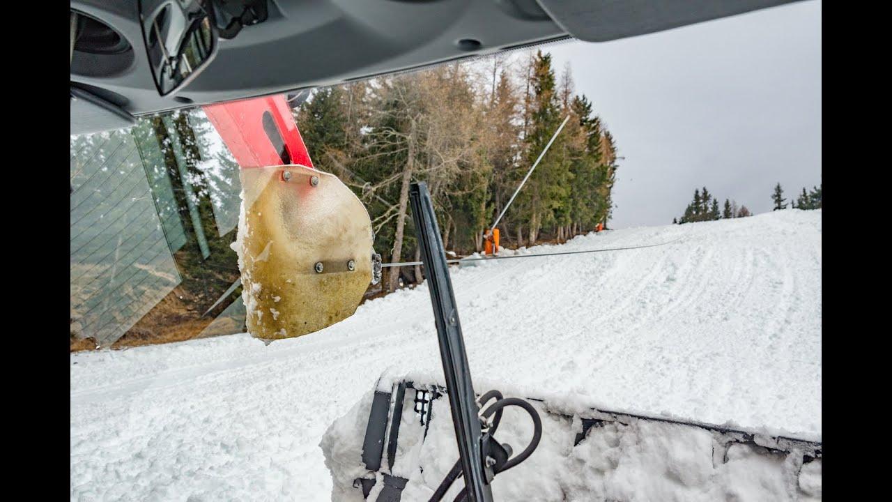 Pistenbully 600 alleghe. un giro sul gatto delle nevi.