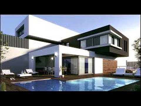 Como hacer la mejor casa moderna de minecraft youtube for Fachadas de casas ultramodernas