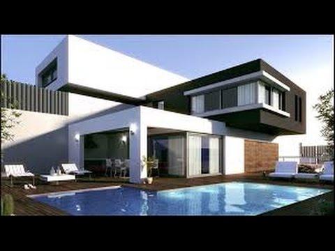 Como hacer la mejor casa moderna de minecraft youtube for Mejores fachadas de casas modernas