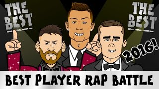 FIFA BEST PLAYER RAP BATTLE 2016! Messi vs Ronaldo vs Griezmann! (PARODY Ballon d'Or Rap)