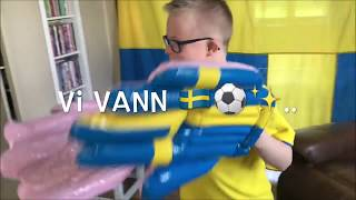 Max hejar Sverige - Sydkorea fotbolls VM 2018