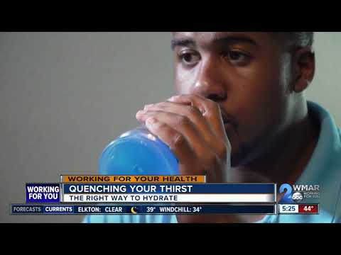 Quenching your thirst: The right way to hydrate