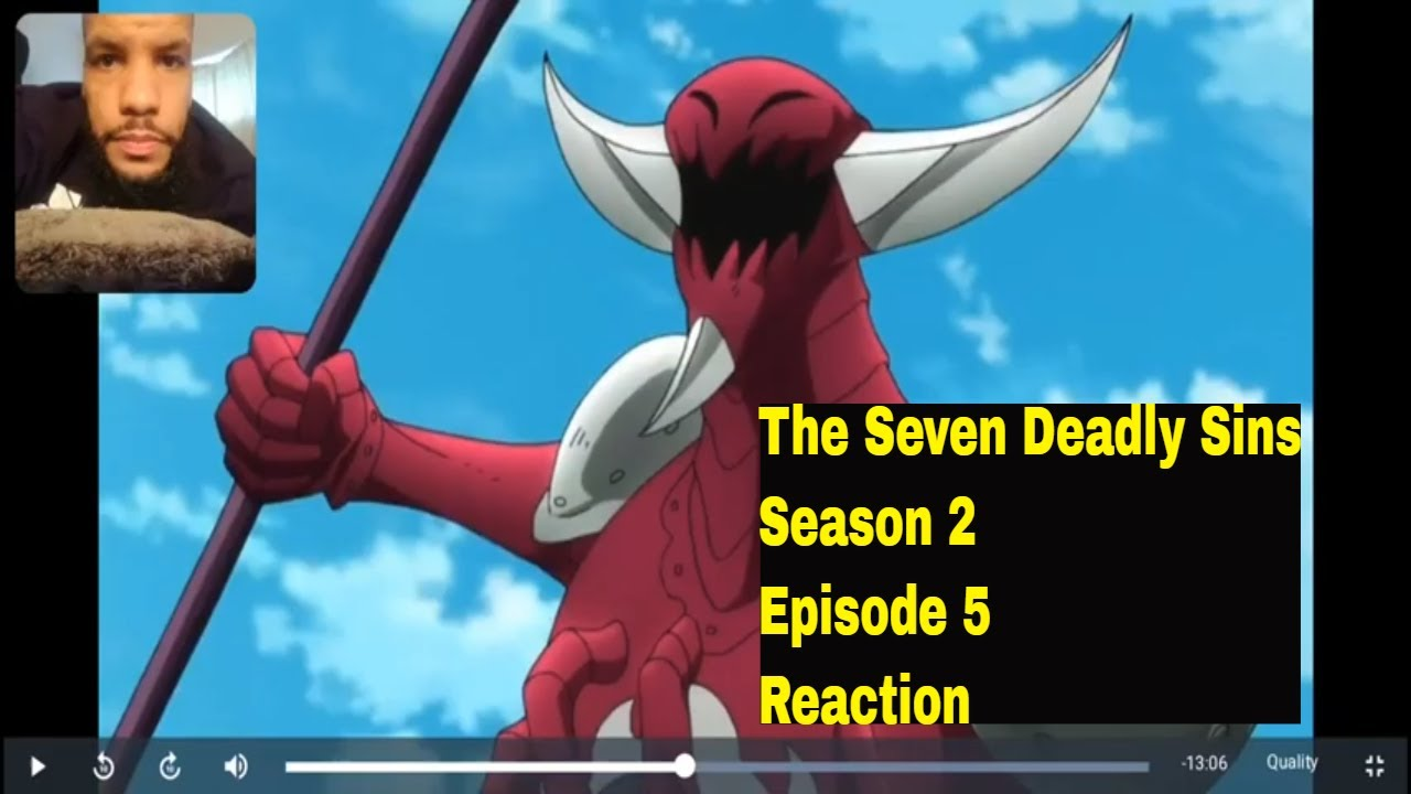 Download The Seven Deadly Sins Season 2 Episode 5 - Overwhelming Violence Reaction