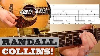 Randall Collins | Norman Blake - Bluegrass Guitar Lesson with TAB