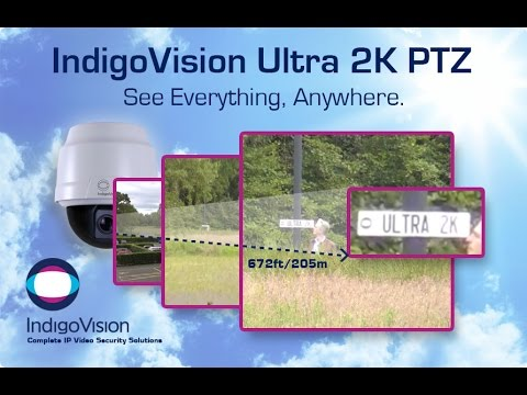 Indigovision ultra 2k ptz webcam