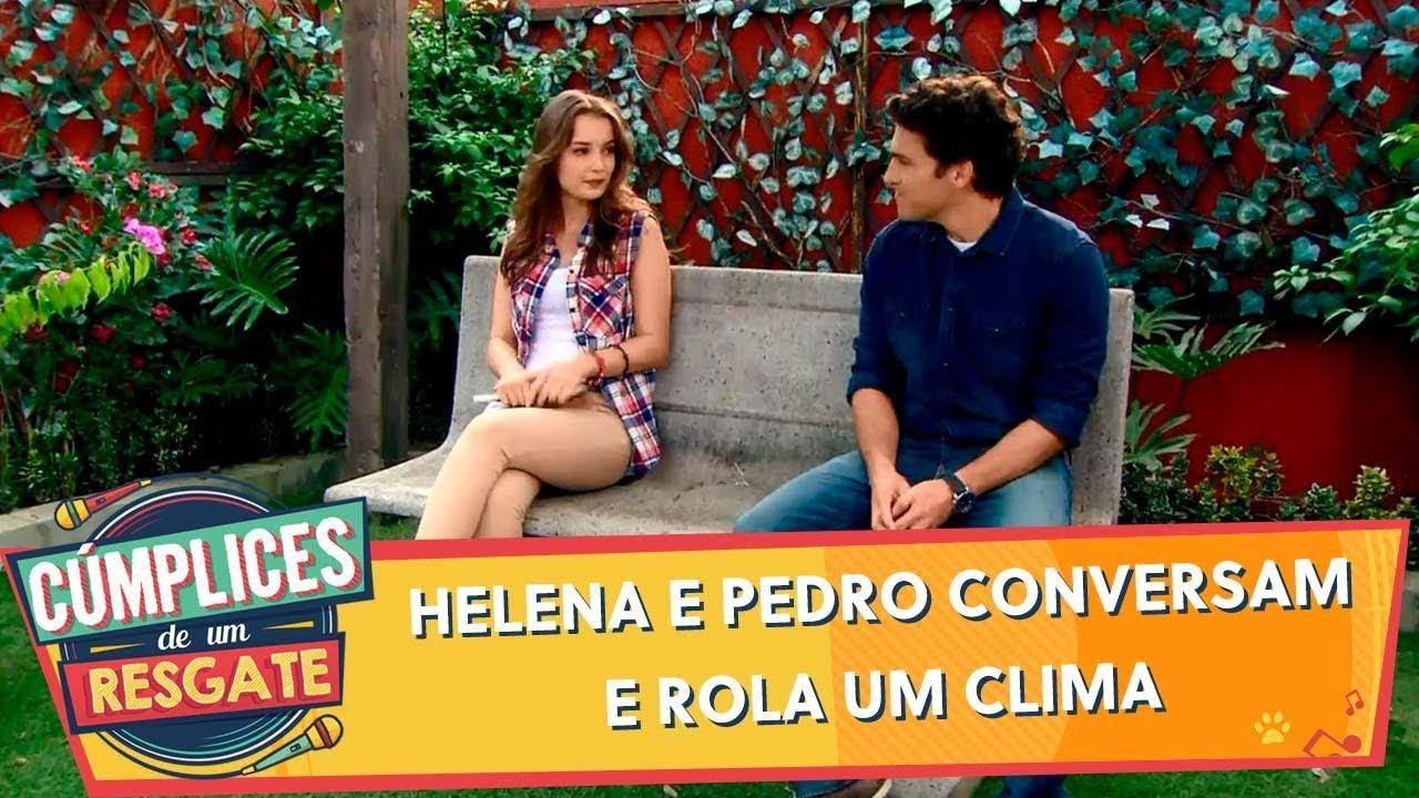 Helena e Pedro conversam e rola um clima | Cúmplices (18/11/19)
