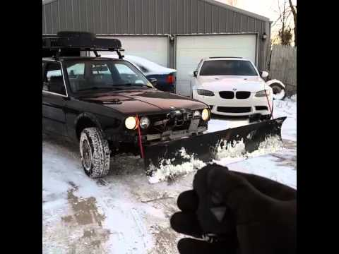 Right at Home - BMW 325iX takes on Big Bear / The Paddock