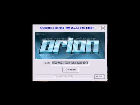 Orion Nero Keygen Music w/ MP3