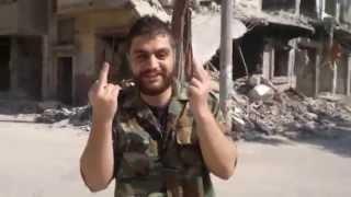 فولكينو & كولونيست في حمص الخالدية بالصوت والصورة Vølcano mc