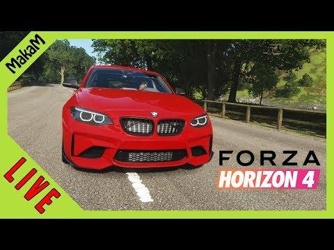 Forza Horizon 4 LIVE #20 - 200+ WHEELSPIN nyitás + BMW Tuningok!!!