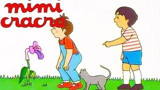 Mimi Cracra joue dans les champs et cueille des cerises !   Dessin animé pour enfants