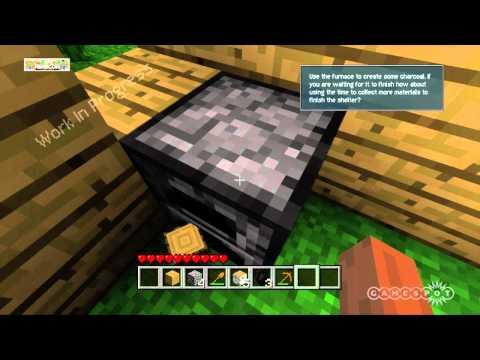 Minecraft Build Furnace Gameplay Video (Xbox 360)