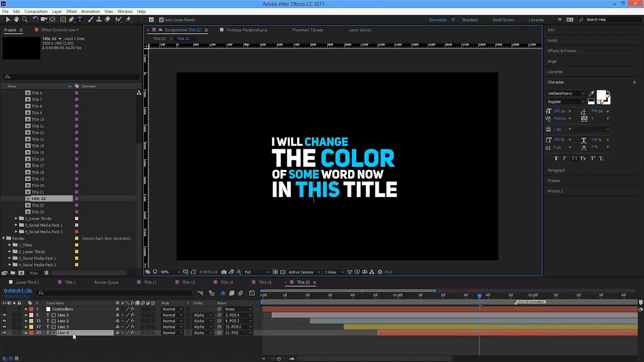Auto Resizing Titles and Lower Thirds | After Effects