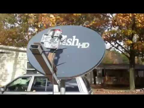 Free TV antenna from satellite TV- how to make