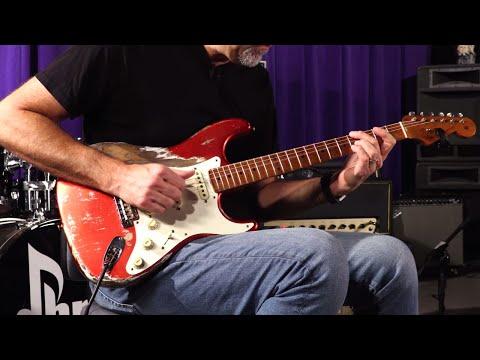 Fender Custom Shop Masterbuilt Greg Fessler Wildwood 10 1955 Stratocaster  •  SN: R94937
