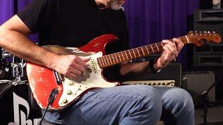 Baixar Fender Custom Shop Masterbuilt Greg Fessler Wildwood 10 1955 Stratocaster  •  SN: R94937