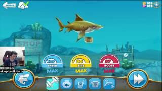 HUNGRY SHARK WORLD PO POLSKU #2 | NOWY REKORD MAŁYM REKINKIEM!