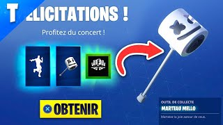 "TERMINER THE DEFIES ""CONCERT"" (PIOCHE - FREE DANSE) ON FORTNITE!"