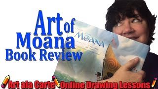 Art of Moana Book Review
