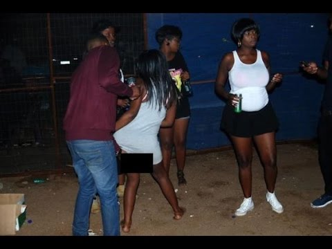 WTH! Women Dance And Show Off Their Private Parts To Men In Exchange For Beer