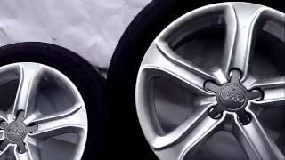 Оригинальные диски для Audi А4 R17 с шинами, б у в идеальном состоянии