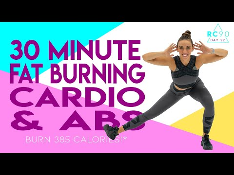30 Minute Fat Burning Cardio And Abs Workout 🔥Burn 385 Calories!* 🔥Sydney Cummings
