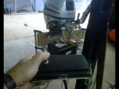 Comando casero motor fuera de borda youtube for Fuera de borda pelicula