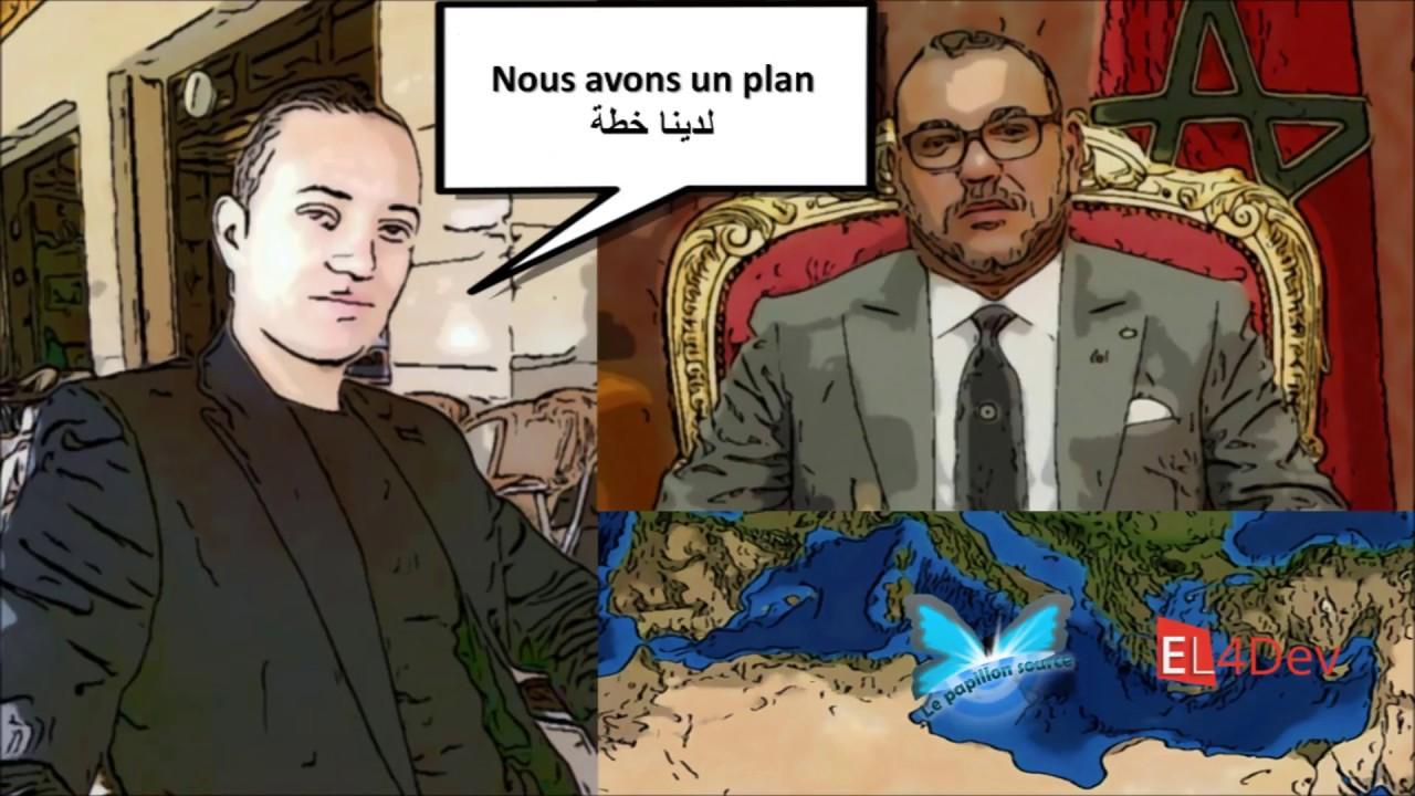 Message de Elvere DELSART au roi Mohammed VI - EL4DEV Le Papillon Source