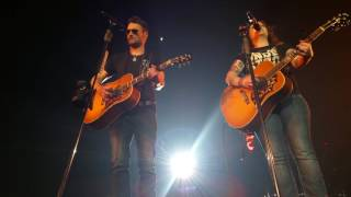 Eric Church and Ashley McBryde - Bible and a .44 (4/13/2017) Rosemont, IL