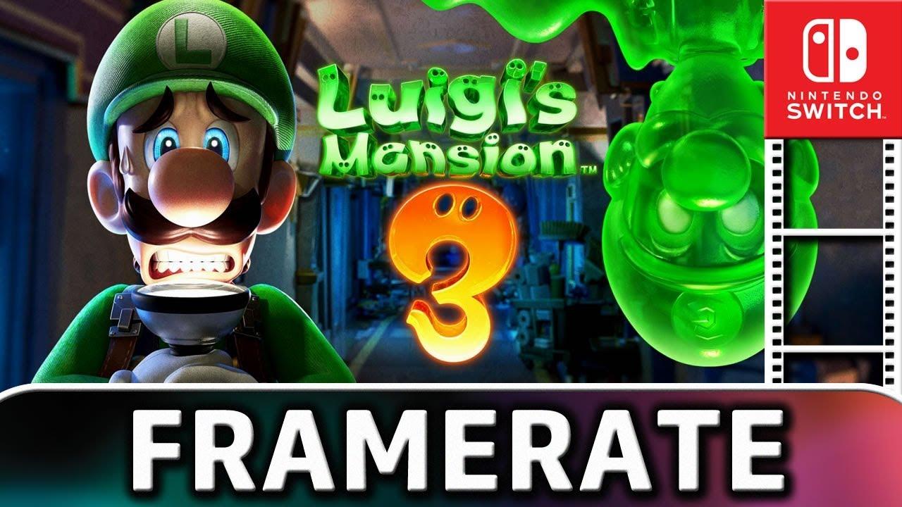 Luigi's Mansion 3   DOCKED Frame Rate TEST on Nintendo Switch