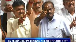 Karnataka: Congress-JDS stake claim to form government