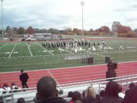 Martin Luther King High School Field Show at Oak Park BOTB