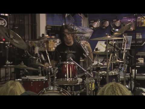 Casey Grillo's drum clinic at Seminole Music (Center of the Universe)