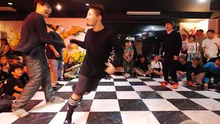 GESO & JONA vs TAECO突撃隊 BEST8 WAAAPS BREAK vol.5 BOTY前日SPECIAL DANCE BATTLE