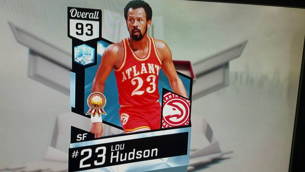 My first Diamond in NBA 2k17 Lou Hudson pack opening