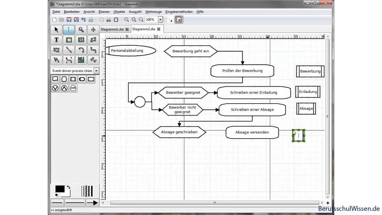 Lernvideo: EPKs mit dem Editor DIA erstellen - YouTube
