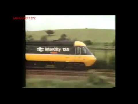 BRITISH RAIL british railways INTERCITY 125 TRAIN TV ADVERT  1988   LWT  HD 1080P