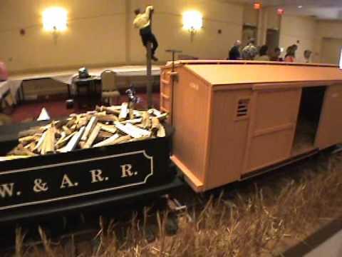 """The General"" Train Exhibit at the Nash Farm Battlefield Museum"